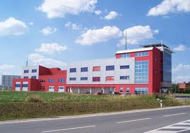 The building in which the new hall will be situated for operational management (Na Bláhovce, Hradec Králové)